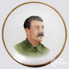"""Декоративная талелка """"И.В. Сталин"""""""
